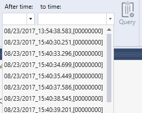 Log Time Query