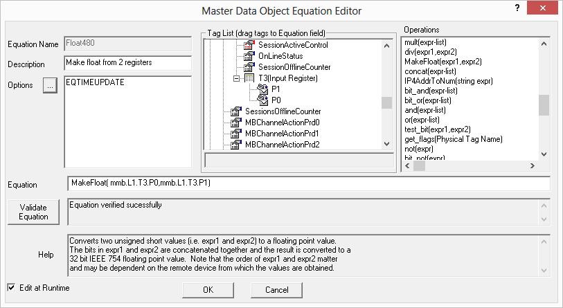 SDG Equation Editor