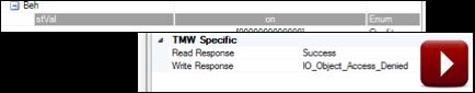 Anvil Configure Read Write errors